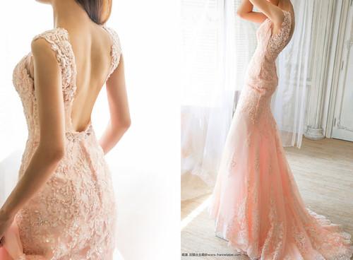 高雄婚紗推薦_高雄法國台北_婚紗禮服_獨家設計款婚紗_裸紗_蕾絲 (3)