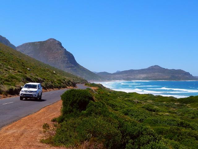 Ruta escénica al Cabo de Buena Esperanza (Sudáfrica)