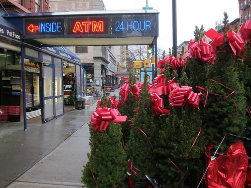 Christmas trees, East Village