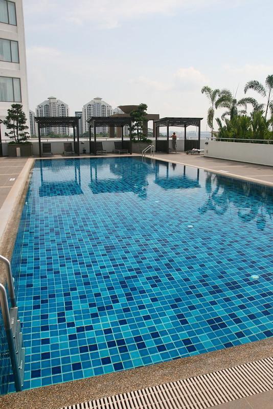 The lap pool