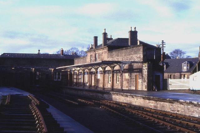 Brechin station, 1984