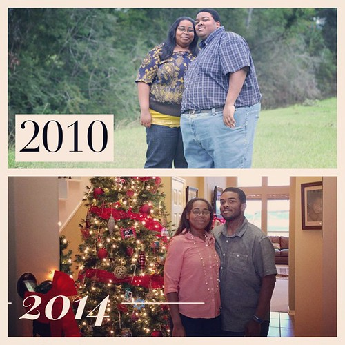 This day in 2011 @fueledxrunning and I decided to make a lifestyle change. Big change in life but totally worth it! #fitfluential #teamchocolatemilk #nuunlove #weightloss #fitfam