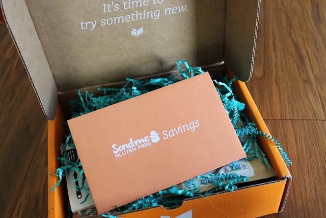 What's in a Send Me Gluten Free Box?