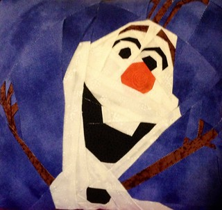 First Olaf pillow made for my niece for Christmas.