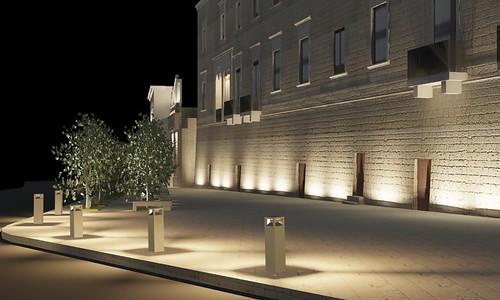 mura polignano begula viale palazzo