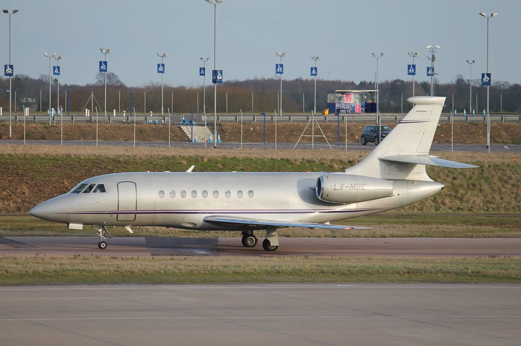 LX-MBE - F2TH - Global Jet Luxembourg