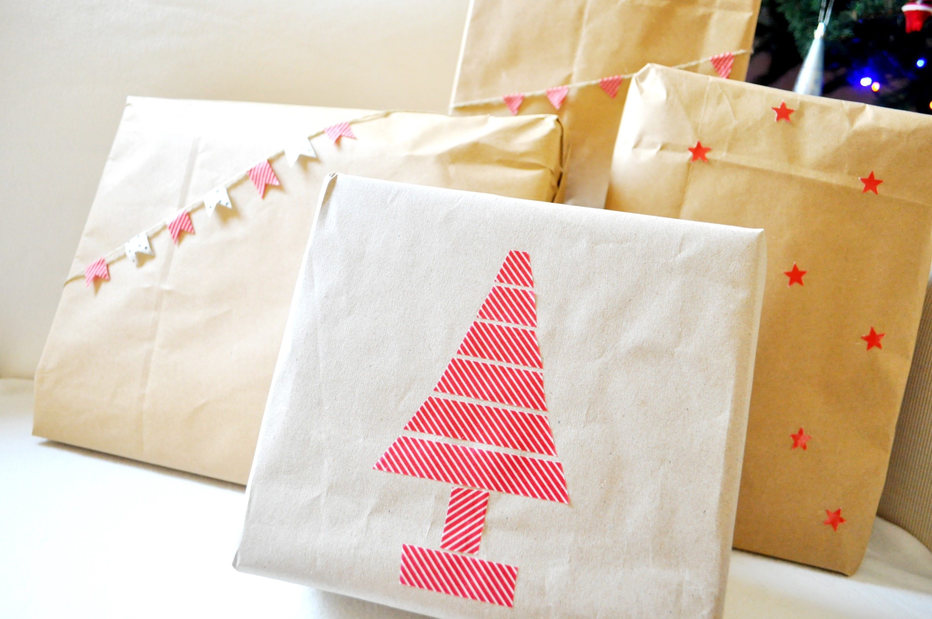 christmas gift wrap diy (1)
