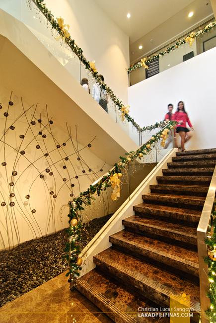 Seda Hotel Nuvali Staircase Artwork