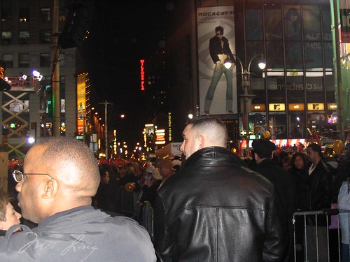 Crowds in Times Square