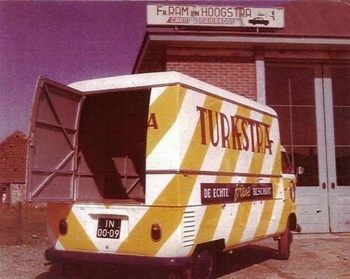 TN-00-09 Volkwagen Transporter Turkstra Beschuit 1962