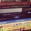 Lynch pile. {probably the most books I have dedicated to one subject}