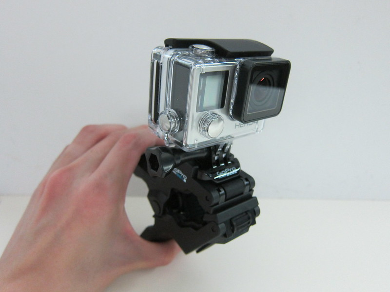 GoPro Jaws (Flex Clamp) - GoPro Jaws (Flex Clamp) - Flex Clamp With GoPro HERO4