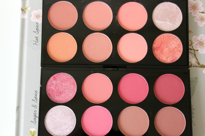 Makeup Revolution Blush Palettes in Hot Spice & Sugar & Spice
