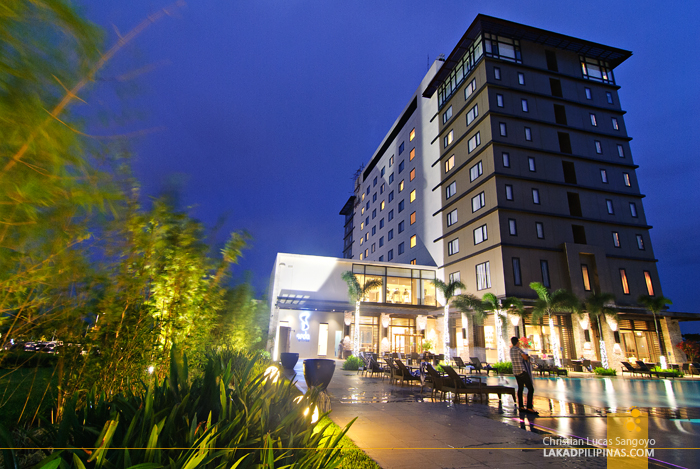 Seda Hotel Nuvali at Night in Santa Rosa, Laguna