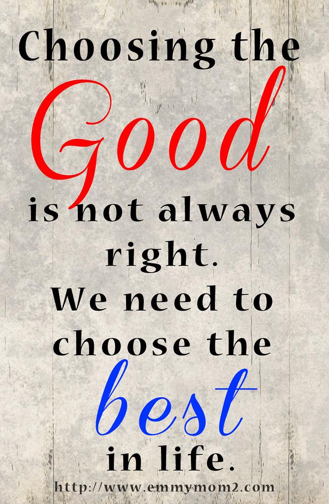 chooseGood