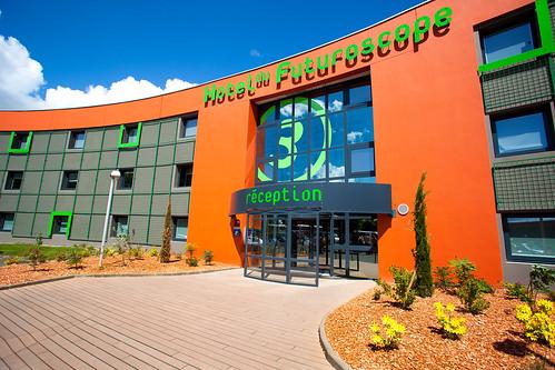 Hotel du Futuroscope 2015 à Chasseneuil du Poitou - Vienne 86 - région Poitou Charentes - France