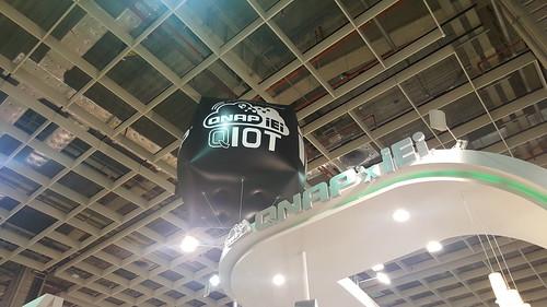 QNAP ในงาน Computex 2016 ธีมคือ QIoT