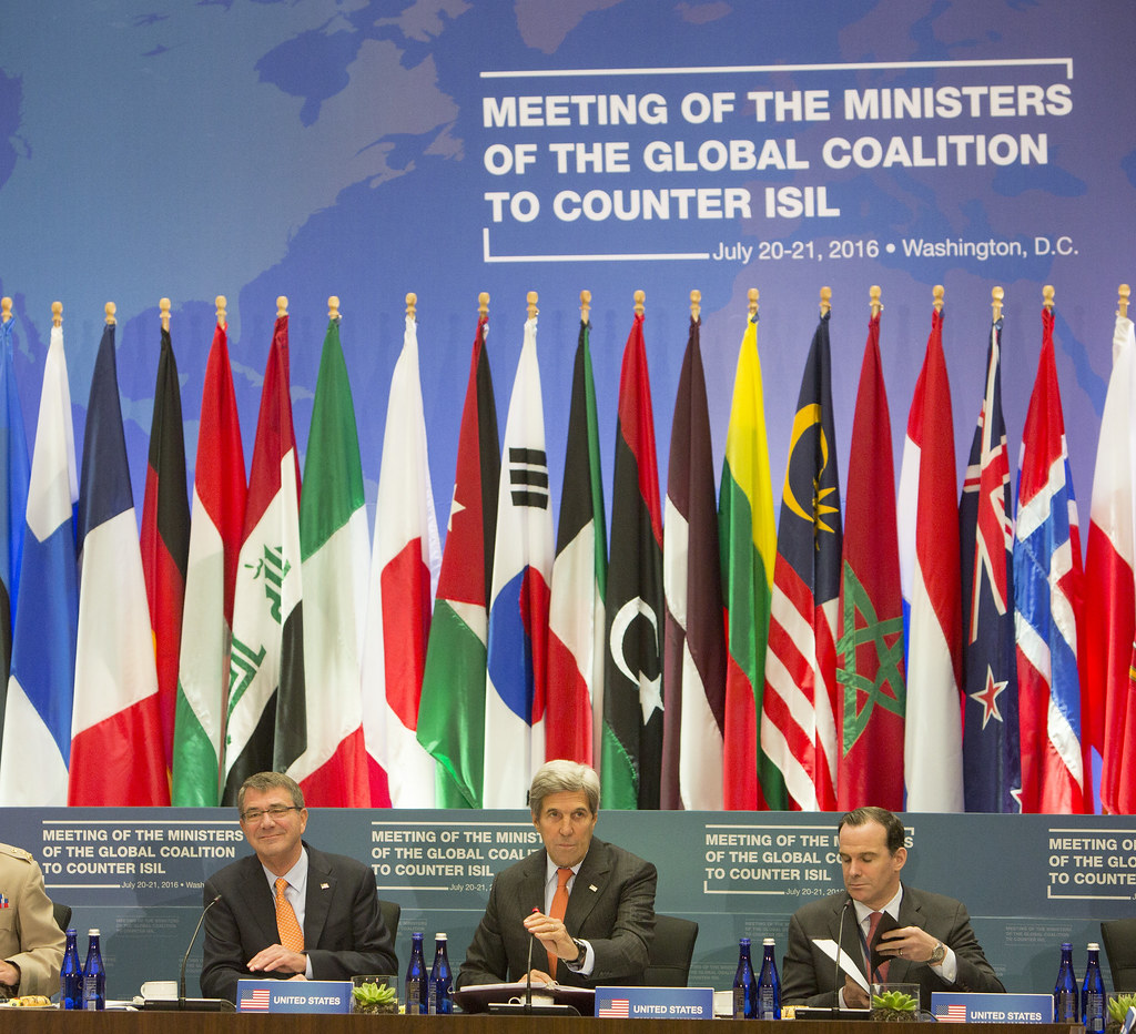 Meeting of the Global Coalition to Counter ISIL /…