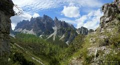 Dal rifugio Padova al rifugio Giaf (trekking Dolomiti friulane)