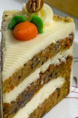 Carrot / Pecan cake