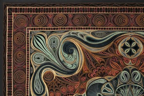 Binding (corner detail) - Tapis Series - Lisa Nilsson