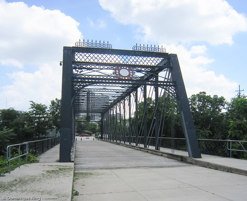 Wells St. Bridge, Fort Wayne, Indiana