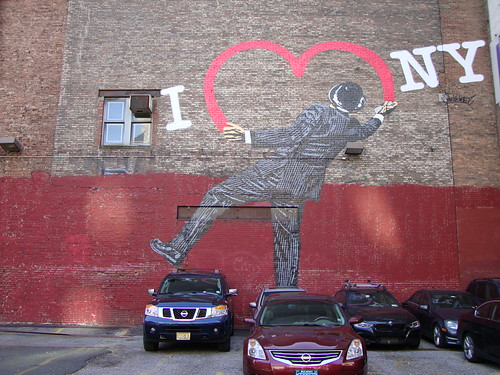 New York, Chelsea Piers, настенные картины в Нью Йорке