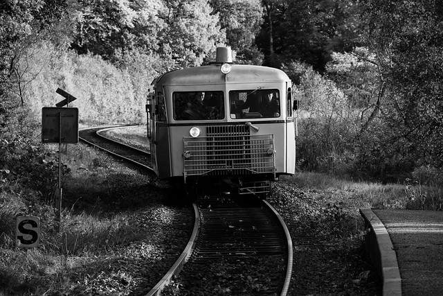 An Old Danish Train
