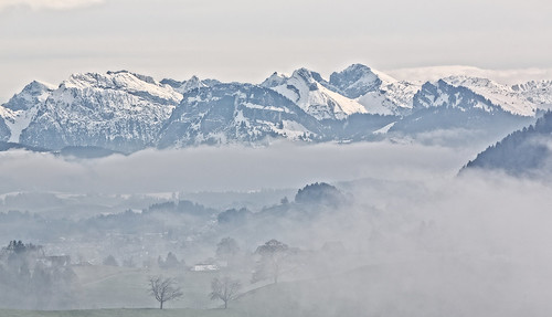 schnee snow mountains berg fog canon landscape schweiz switzerland nebel suiza nieve paisaje neighborhood landschaft niebla montanas vecindario hirzel hirzelswitzerland hirzelschweiz