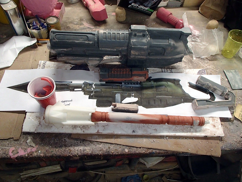 August 14 Harpoon Gun Parts Progress 193