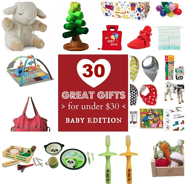 Neverhomemaker 30 Gifts For 30 Or Less Baby