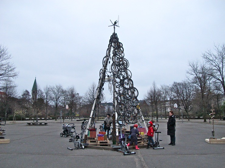 Hjuletræ / Wheeltree / Christmas tree