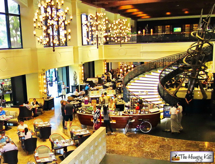 ... In My Plans A Lunch Buffet At Its Signature Restaurant And One Of The  First To Introduce The Interactive Luxury Buffet Concept In The Country,  Spiral.