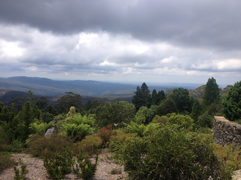 View from Mount Tomah botanic gardens.