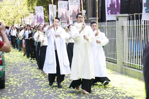 第九屆蔡瑞月舞蹈節結合公民團體,揭開24小時反壓迫行動藝術序幕。