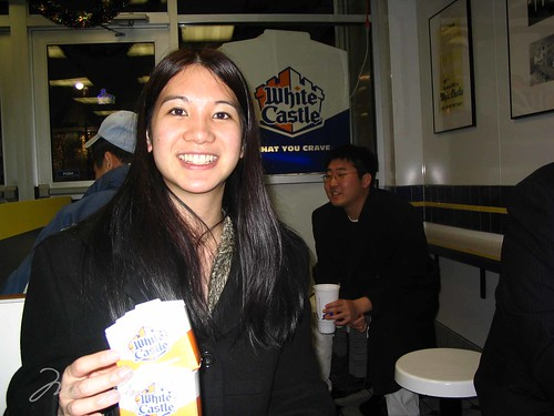 Mei with White Castle