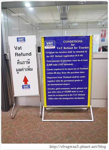 泰國-清邁-Maya百貨-Naraya-曼谷包-退稅單-退稅教學-退稅流程-機場退稅-Vat Refund-Tax Free-Tax Refund-出入境表填寫-落地簽-泰國落地簽-落地簽注意事項-泰國機場-14-412-1