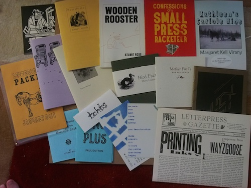 books & chapbooks & ephemera