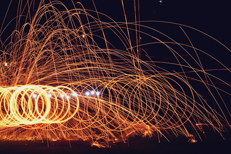 Steel Wool Spinning 2