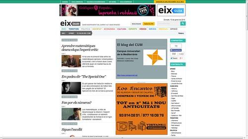 136 - El blog del CUM, Campus Universitari de la Mediterrània