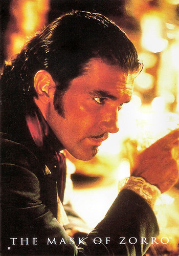 Antonio Banderas in The Mask of Zero (1998)