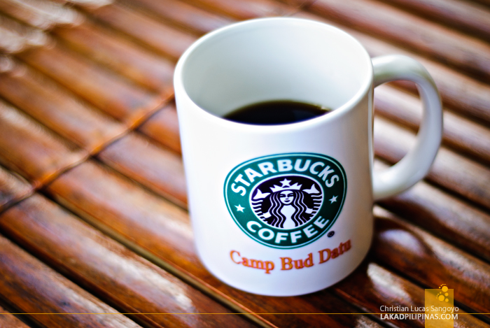 Camp Bud Datu Sulu Starbucks