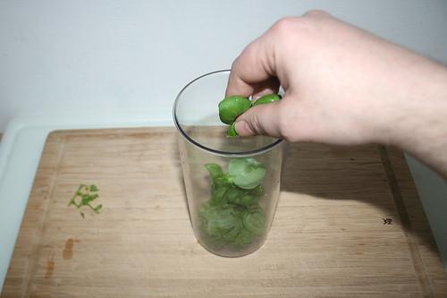 35 - Blätter abzupfen / Pick leafs