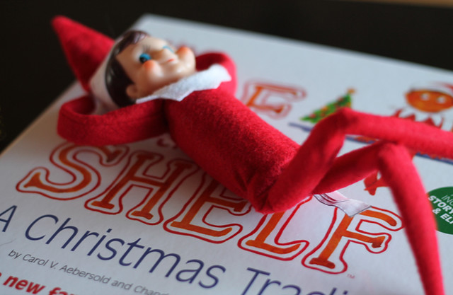 Elf-on-The-Shelf-Bendable