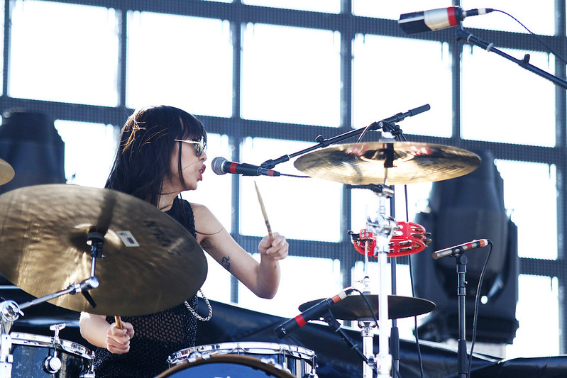 Riot Fest 2014 Denver - Dum Dum Girls