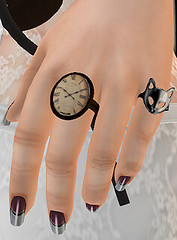 Steampunk Ring Clock
