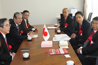 Professors from Indonesia and Committee Members have a meeting