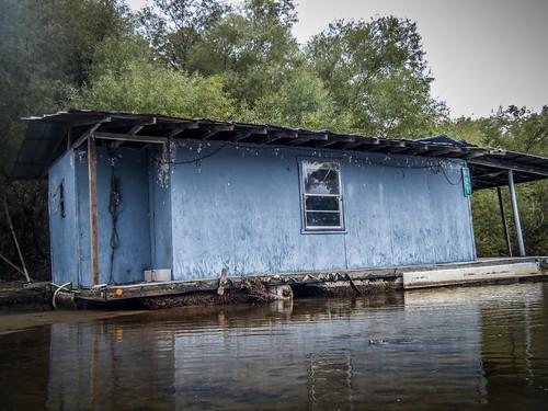 Savannah River from Stokes Bluff with LCU Nov 7, 2014, 4-18 PM Nov 8, 2014, 9-058