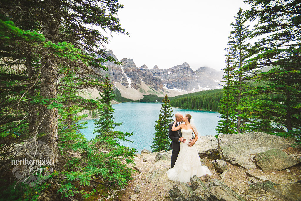 Moraine Lake After Wedding Session
