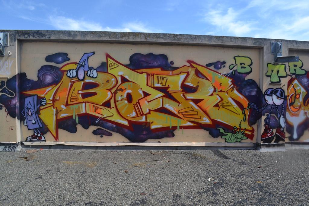 BAER, BTR, Graffiti, the yard, Eastbay,